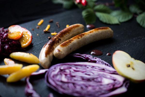 Hanzz Gans die Gourmet Bratwurst aus 100% Gänsefleisch