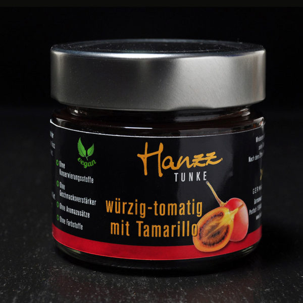 Hanzz Tamarillo Tunke perfekt zur Hanzz zartscharf