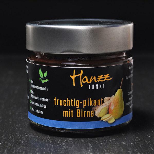 Hanzz Tunke mit Birne fruchtig pikant