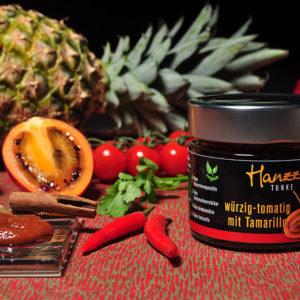 Hanzz Tunke mit Tamarillo würzig tomatig